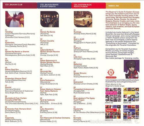 CDs de Música: The Beginners Guide To Eastern Europe * BOX SET 3 CD * Caja precintada * Rare - Foto 2 - 59141550