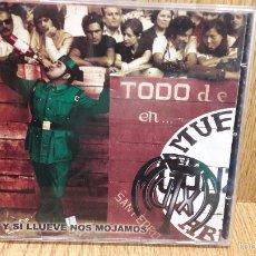 CDs de Música: MUTXA TELA. Y SI LLUEVE NOS MOJAMOS. CD / KEMARROPA. 13 TEMAS - PUNK - BURGOS / CALIDAD LUJO. Lote 59152300