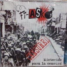 CDs de Música: FI-ASKO. HISTORIAS PARA LA CENSURA. CD / KAMILOSETAS MUSCARIA. 15 TEMAS / PRECINTADO.. Lote 59155040