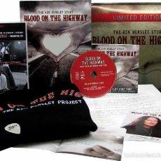 CDs de Música: KEN HENSLEY / URIAH HEEP * FAN BOX * BLOOD ON THE HIGHWAY * CAJA METÁLICA NUMERADA Y PRECINTADA!!. Lote 171312749