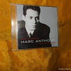 CDs de Música: MARC ANTHONY. DESDE UN PRINCIPIO. CD. 1999. IMPECABLE. Lote 59167295