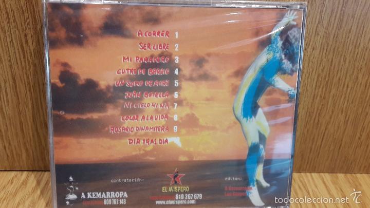 CDs de Música: L@S GINGER. NI CIELO NI NÁ. CD / A KEMARROPA - 10 TEMAS / PRECINTADO. DIFÍCIL. - Foto 2 - 244473460