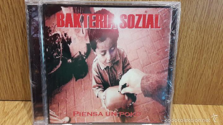 BAKTERIA SOZIAL. PIENSA UN POKO. CD / SINDROME DISCOS. 13 TEMAS / PRECINTADO. (Música - CD's Heavy Metal)