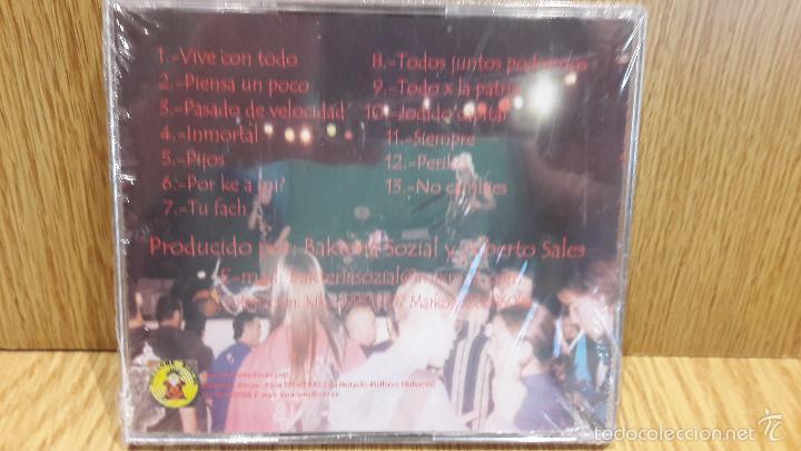 CDs de Música: BAKTERIA SOZIAL. PIENSA UN POKO. CD / SINDROME DISCOS. 13 TEMAS / PRECINTADO. - Foto 2 - 59168360