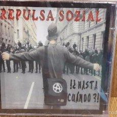 CDs de Música: REPULSA SOZIAL. ¿ HASTA CUANDO ? CD / MACHETE RECORDS. 14 TEMAS / PRECINTADO.. Lote 59169350