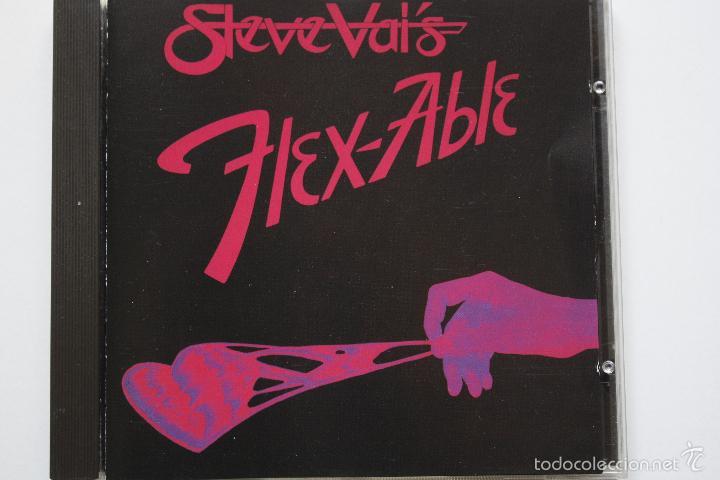 STEVE VAI- FLEX ABLE- FRENCH CD 1984. (Música - CD's Heavy Metal)