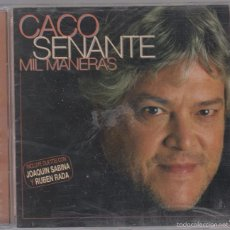 CDs de Música: CACO SENANTE CD MIL MANERAS 2002 DUERTOS CON JOAQUÍN SABINA Y RUBÉN RADA. Lote 116261246