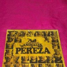 CDs de Música: PEREZA - LOS AMIGOS DE LOS ANIMALES (CD + DVD) (SONY/BMG 2006). Lote 59576755