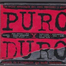 CDs de Música: PURO Y DURO - 2 CDS RECOPILATORIO. Lote 59579207