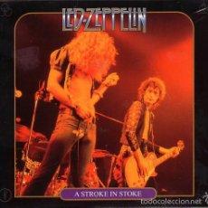 CDs de Música: LED ZEPPELIN A STROKE IN STOKE 1973 2 CD´S DIGIPACK. Lote 59666711