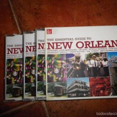 CDs de Música: THE ESSENTIAL GUIDE TO NEW ORLEANS TRIPLE CD ALBUM BOX SET LOUIS ARMSTRONG AARON NEVILLE 3 CD RARO. Lote 59700667