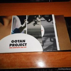 CDs de Música: GOTAN PROJECT THE COMPLETE BOX SET TRIPLE CD LA REVANCHA DEL TANGO INSPIRACION ESPIRACION LUNATICO. Lote 59716575