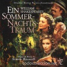 CDs de Música: WILLIAM SHAKESPEARE'S A MIDSUMMER NIGHT'S DREAM - ORIGINAL MOTION PICTURE SOUNDTRACK - 1999 . Lote 59719875