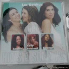 CDs de Música: CD LAS KETCHUP HIT HIT'S HITS A SONY RECOPILATORIO SOLANGE BEYONCE KNOWLES THE KETCHUP SONG ASEREJE. Lote 59788476