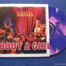 CDs de Música: NIRVANA ABOUT A GIRL CDS/CTON FRANCIA 1994 PDELUXE. Lote 59791920
