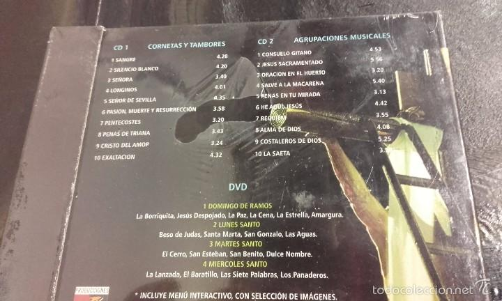 CDs de Música: 2 cds + dvd Misterios de Sevilla vol. 2 Semana Santa Cofradías Hermandad Hermandades - Foto 2 - 67495426