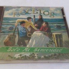 CDs de Música: CD NUEVO PRECINTADO BOCETOS SOLO MI SINCERIDAD. Lote 59951863