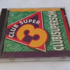 CDs de Música: CD NUEVO SIN PRECINTAR CLUB SÚPER 3 CLUBISUPERSOM TV3 CLUB INFANTIL TELEVISIÓN. Lote 59956531