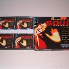 CDs de Música: VV.AA. SOUL CLASSICS. 4 CDS BOX. RMT76219. . Lote 59964467