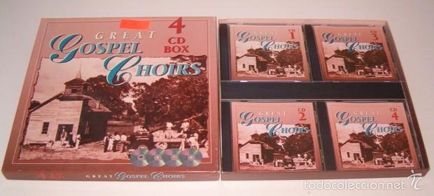 VV.AA. GREAT GOSPEL CHOIRS. 4 CDS BOX. RMT76221. (Música - CD's Jazz, Blues, Soul y Gospel)