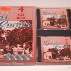 CDs de Música: VV.AA. GREAT GOSPEL CHOIRS. 4 CDS BOX. RMT76221. . Lote 59964659