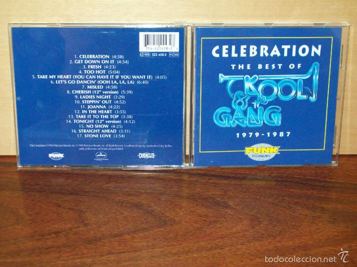 KOOL & THE GANG - CELEBRATION - THE BEST OF 1979/1987 - CD (Música - CD's Disco y Dance)