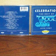 CDs de Música: KOOL & THE GANG - CELEBRATION - THE BEST OF 1979/1987 - CD . Lote 59986207