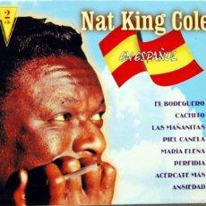 CDs de Música: NAT KING COLE EN ESPAÑOL. 2 CD - NOVOSON 1999. Lote 60023971