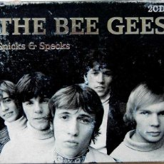 CDs de Música: BEE GEES - SPICKS & SPECKS. 2 CD - BLACK BOX 2001 UK. Lote 60024631