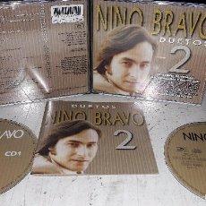 CDs de Música: NINO BRAVO DUETOS 2 DOBLE CD MUY BUEN ESTADO. Lote 60067603