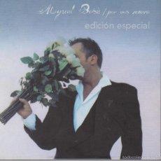 CDs de Música: MIGUEL BOSÈ - POR VOS MUERO - EDICIÓN ESPECIAL CD+DVD - WARNER 2004. Lote 60100539