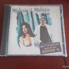 cd nuevo precintado Malizzia & Malizzia incluye Y no puedo más ganador Festival Benidorm '96 1996