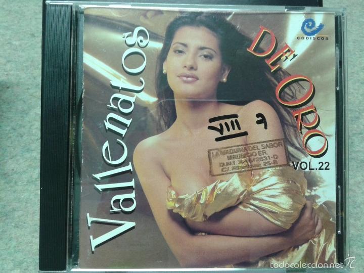 VALLENATOS DE ORO VOL 22 (Música - CD's Latina)