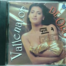 CDs de Música: VALLENATOS DE ORO VOL 22. Lote 45641611