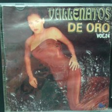 CDs de Música: VALLENATOS DE ORO VOL 24. Lote 45642205