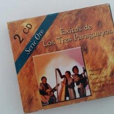CDs de Música: (SEVILLA) CD DOBLE - LOS TRES (3) PARAGUAYOS - EXITOS. Lote 60258179