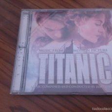 CDs de Música: TITANIC. BANDA SONORA DE LA PELÍCULA. CD BUEN ESTADO CON 15 TEMAS. . Lote 60262831