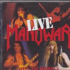 CDs de Música: MANOWAR - HELL ON WHEELS LIVE - 2XCDS. Lote 60274767