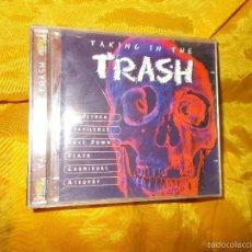 CDs de Música: TAKING IN THE TRASH. SEPULTURA, ATROPHY, PESTILENCE .. CD. . Lote 60378519
