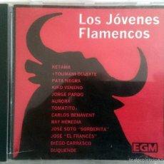 CDs de Música: VA: LOS JÓVENES FLAMENCOS, CD CON 12 TEMAS DE KETAMA, RAY HEREDIA, DUQUENDE, TOMATITO, PATA NEGRA.... Lote 60421835