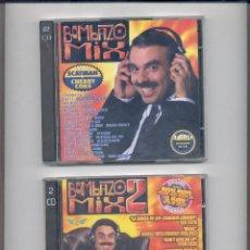 CDs de Música: BOMBAZO MIX 1 Y 2. Lote 87589287