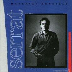 CDs de Música: JOAN MANUEL SERRAT - MATERIAL SENSIBLE - CD ALBUM - 9 TRACKS - ARIOLA / BMG MUSIC 2000. Lote 60534787