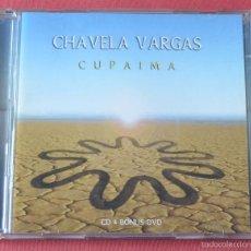 CDs de Música: CHAVELA VARGAS - CUPAIMA - UN MUNDO RAR - PIENSA EN MI - CD + DVD TRACK. Lote 60550471