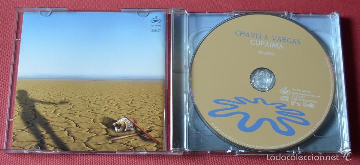 CDs de Música: CHAVELA VARGAS - CUPAIMA - UN MUNDO RAR - PIENSA EN MI - CD + DVD TRACK - Foto 3 - 60550471