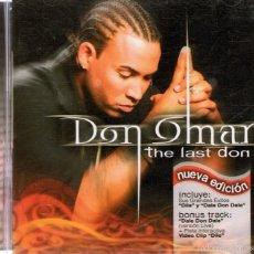 CDs de Música: CD DON OMAR ¨THE LAST DON¨ . Lote 60589915