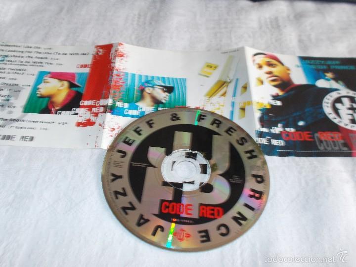 CDs de Música: JAZZY JEFF & FRESH PRINCE Code Red - Foto 2 - 60687455