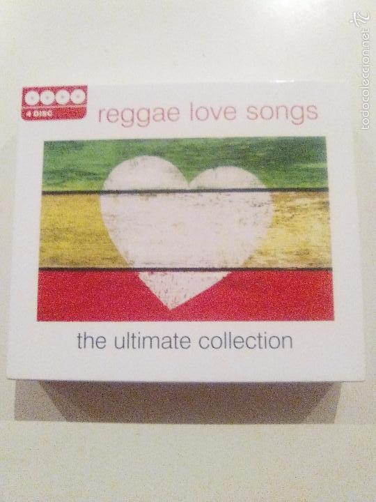 Reggae love songs ultimate collection 4cd box ( - Sold through