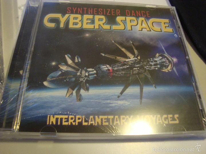 RAR CD  CYBER SPACE  INTERPLANETARY VOYAGES   SEALED  ITALO