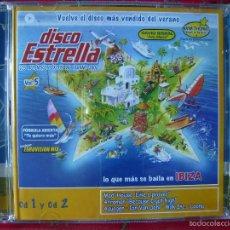 CDs de Música: DISCO ESTRELLA VERANO 2002...VOL 5... CD 1-CD 2.....PEDIDO MINIMO 5€. Lote 60712835