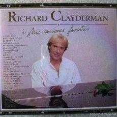 CDs de Música: RICHARD CLAYDERMAN.MIS CANCIONES FAVORITAS...DOBLE CD. Lote 60717935